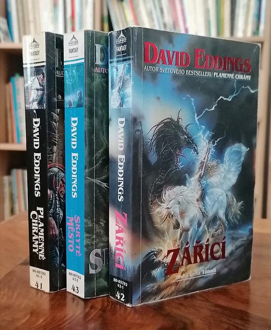 Eddings David, Plamenné chrámy / Zářící / Skryté město (Tamuli 1-3)