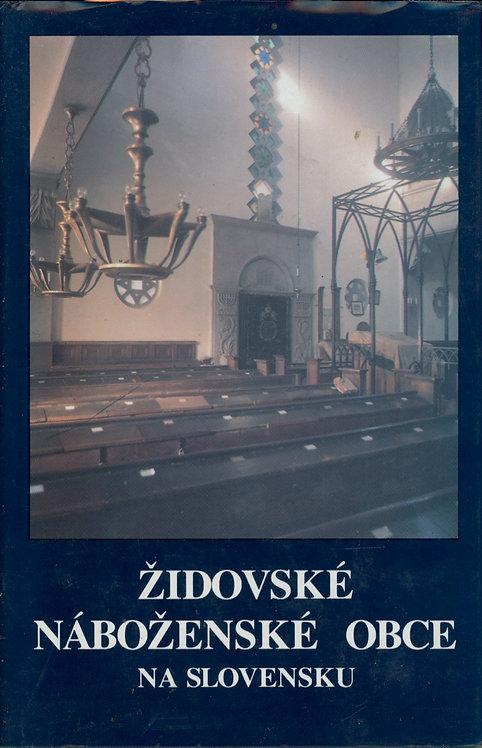 Barkány Eugen - Dojč Ľudovít, Židovské náboženské obce na Slovensku