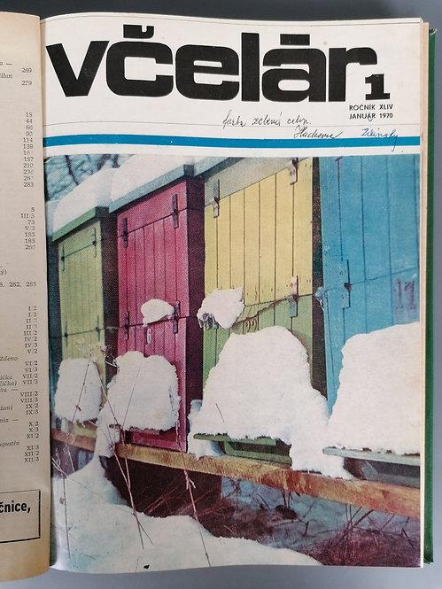Včelár, ročník XLIV, 1970