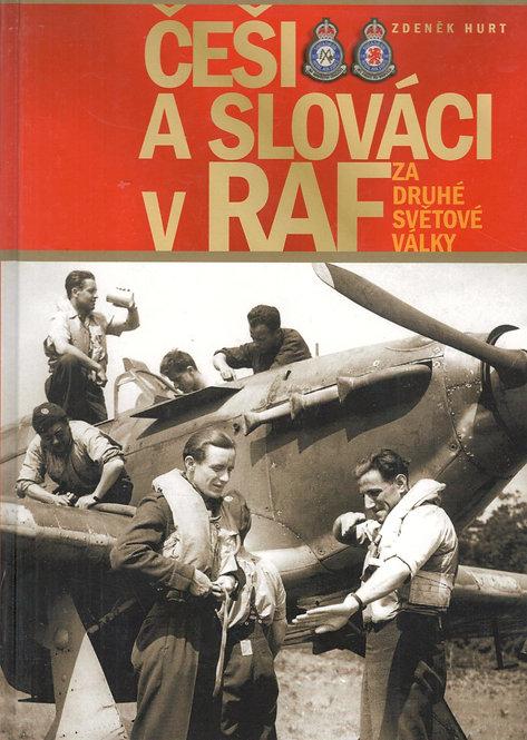 Hurt Zdeněk, Češi a Slováci v RAF za druhé světové války