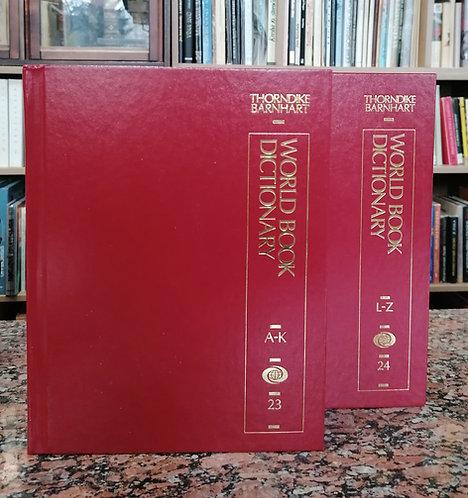 Barnhart C. L. - Barnhart R. K., The World Book Dictionary, A - K, L - Z