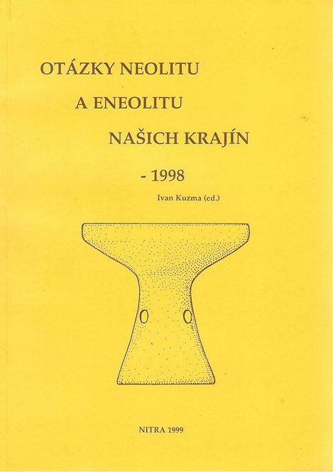 Kuzma Ivan, Otázky neolitu a eneolitu našich krajín - 1998