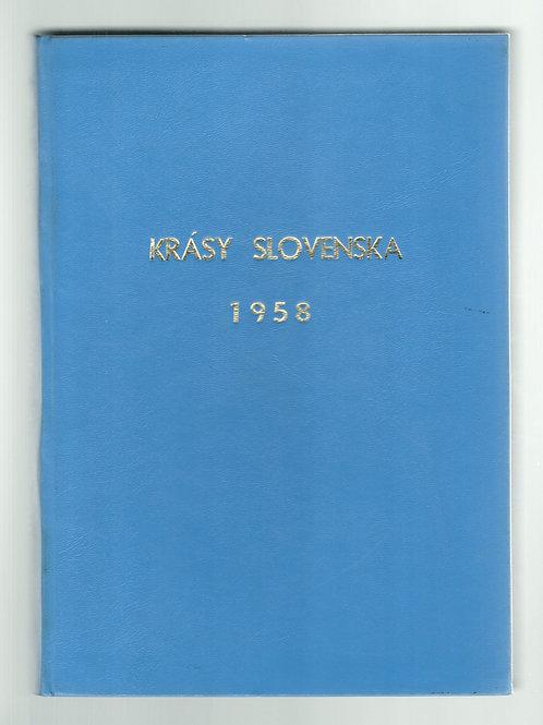 Krásy Slovenska 1958