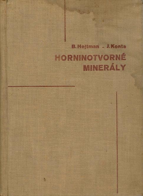 Hetman B., Konta, J., Horninotvorné minerály