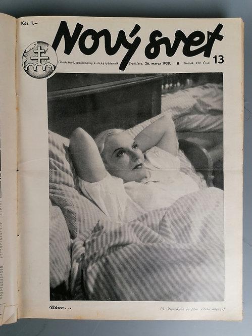 Nový svet, ročník 1938