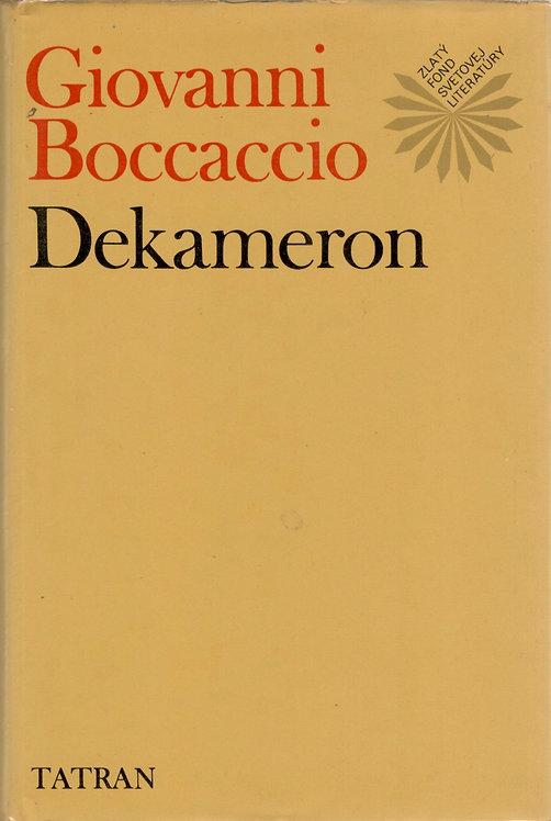 Boccaccio Giovanni, Dekameron