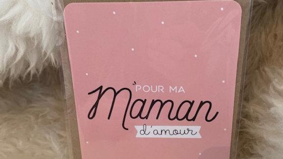 Carte Maman d'amour