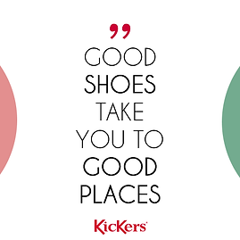 Good shoes Take you to Good Places