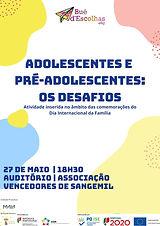 Projeto Bué d'Escolhas: Ciclo de Conversas e Partilhas para Pais, Cuidadores e Encarregados de Educação