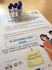 """Projeto Capacitar + Sessão COVID: """"Capacitando para um Regresso + Consciente"""""""