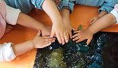 Centro de Animação de Infância de Vermoim: Experiência Sensorial com gelatina - Sala aquisição de marcha /24 meses