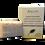 Thumbnail: Abgur Hand-made Organic Argan Oil Natural Soap 'Lavender'