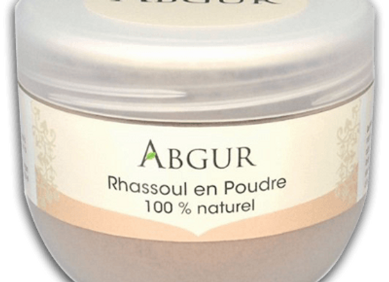 Abgur Moroccan Rhassoul Powder 100% Naturel