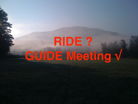Ride? Guide Meeting√