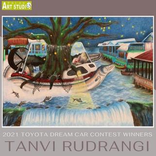 Tanvi Rudrangi- Toyota