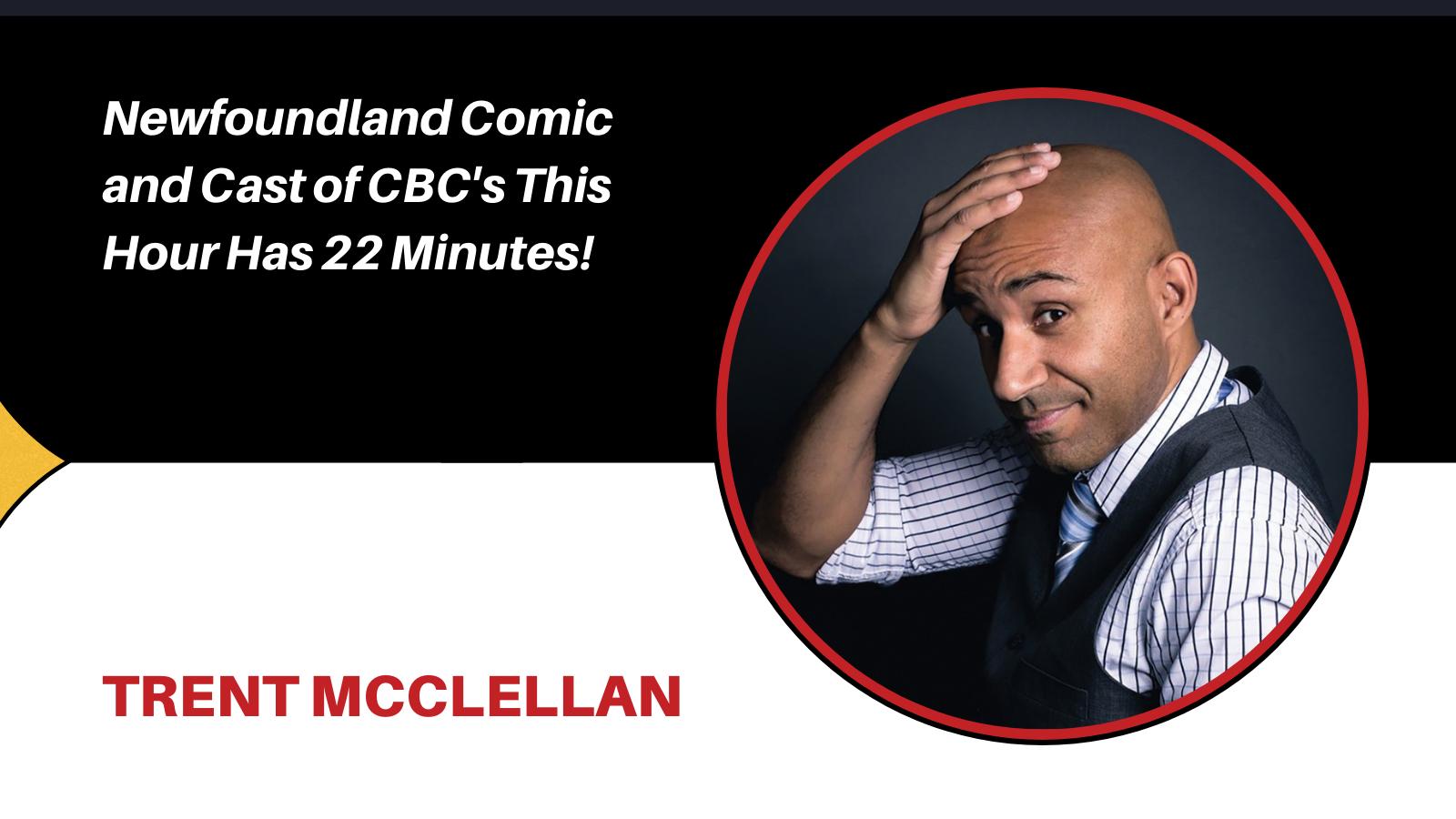 comedian Trent McClellan