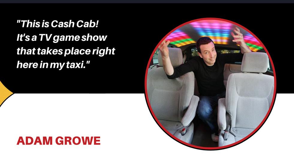 comedian Adam Growe