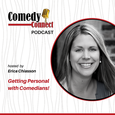 Comedy Connect podcast hosted by Erica C