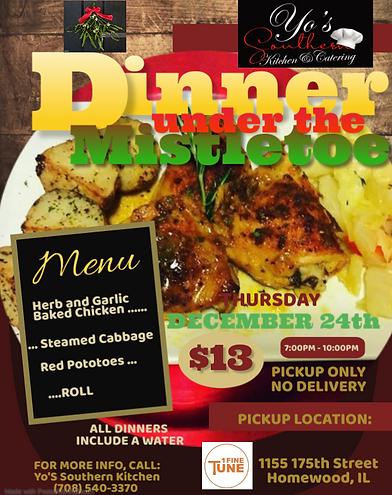 Yo'S Mistletoe Dinner Flyer.png