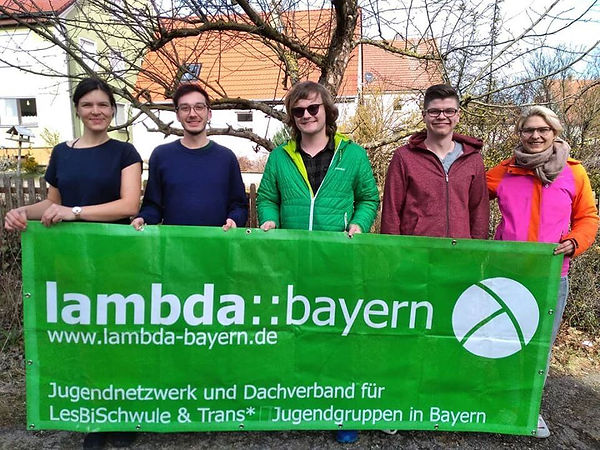 Lambda Bayern Partnerprojekt der LGBTQ b