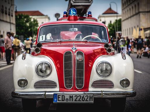 Neuer Weltrekord - Firetage in München