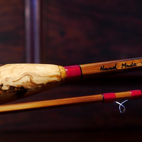 Eternal Flame Split Cane Rod by Tom Regula.
