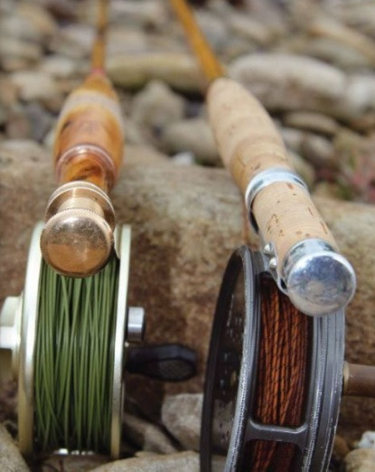 Credit: Total FlyFisher, Clark Colman. Hardy CC de France and Tom Regula bespoke fly fishing rod.