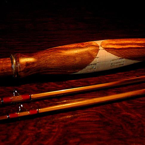 Signature Rod Handle Handmade by Tom Regula