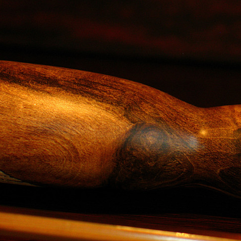 Old English Wood and Portuguese Cork. Tom Regula Fly Rod.