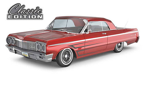 1964 Chevrolet Impala SS RC Lowrider Classic Red Edition