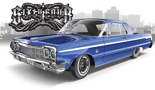 1964 SS Impala RC Lowrider Classic Blue Edition