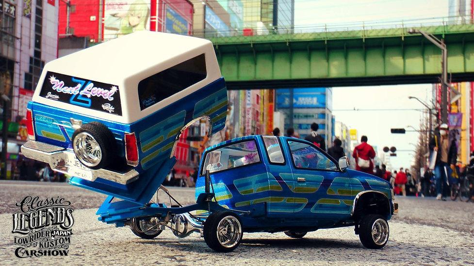 nissan mini truck beddancer in akihabara tokyo
