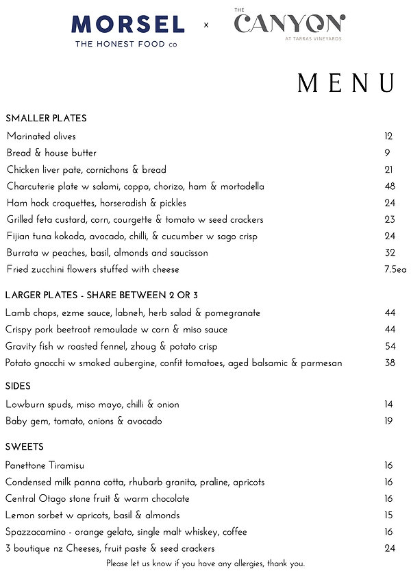 MORSEL x The Canyon Menus 27th Dec (7).j