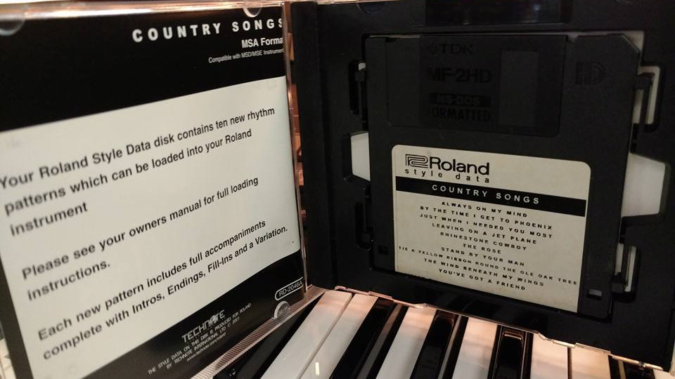Roland Style Disk-Country Songs