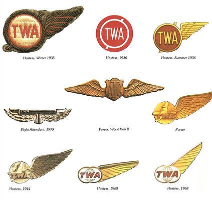 TWA Flight Attendant Wings