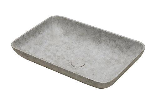 Concrete rectangle washbasin