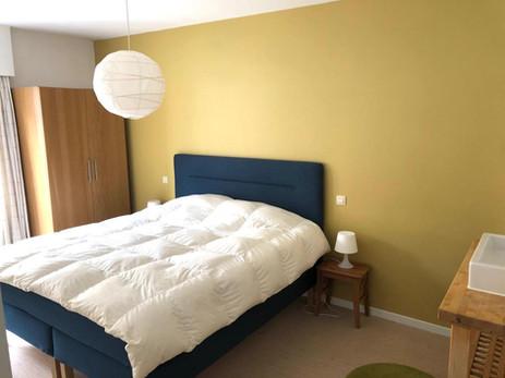 Eerste slaapkamer vakantieappartement