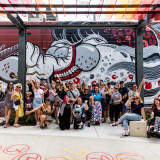 East Vic Park's first street art tour