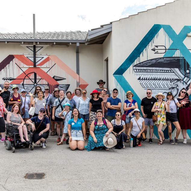 Vic Park's first street art tour