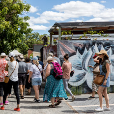 Street Art Walking Tour - Victoria Park