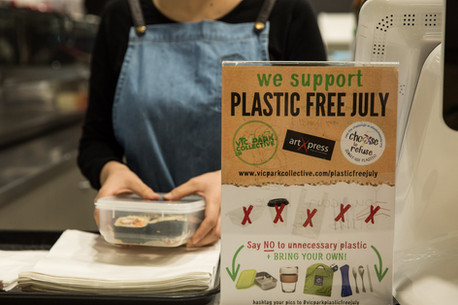 Plastic Free in Vic Park: Sushi Time