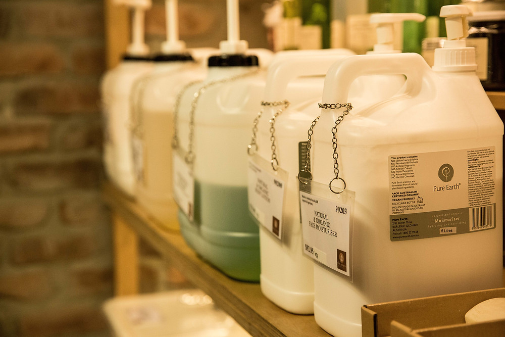 The Source Bulk Foods don't just stock food, but other household items such as detergent, shampoo and laundry powder