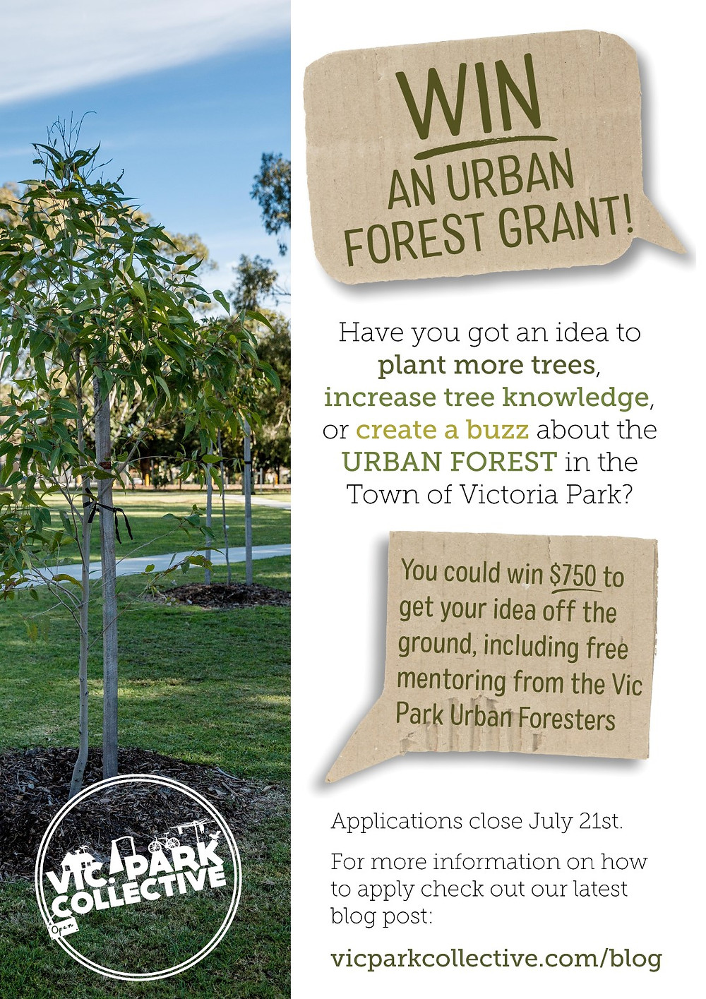 Urban Forest Grant Competition Poster