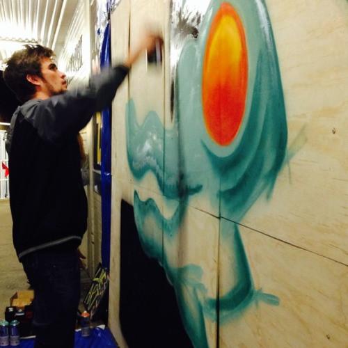 RLSM cranking the paint