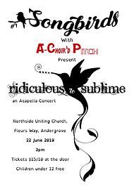 Concert Poster Ridiculous to Sublime
