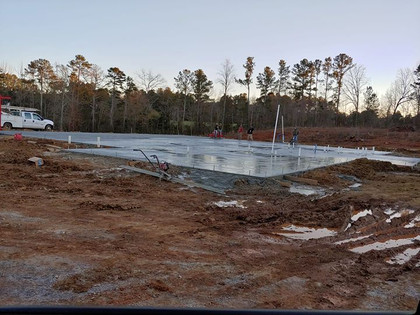 Venue Pad Poured