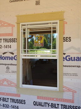 Custom Made Window Frames