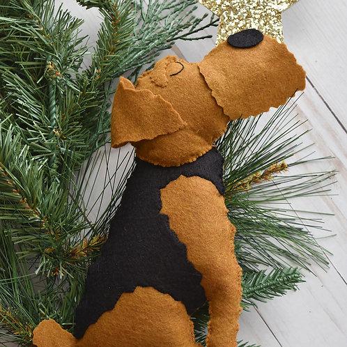 Custom Dog Christmas Tree Topper
