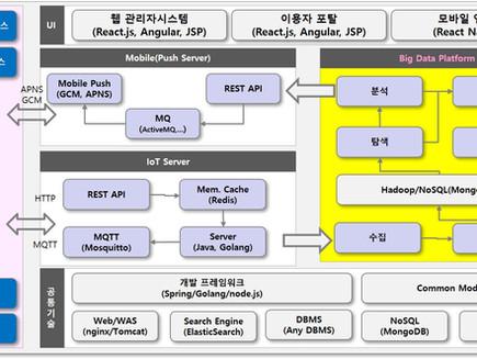 자체적인 서비스 플랫폼 기반 개발