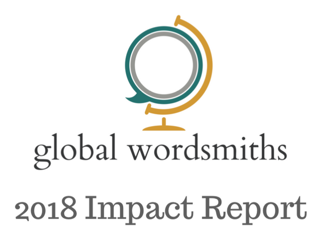 Global Wordsmiths 2018 Impact Report